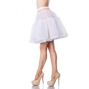 Oktoberfest Wiesn Dirndl Petticoat weiß von Belsira - XS-L oder XL-3XL