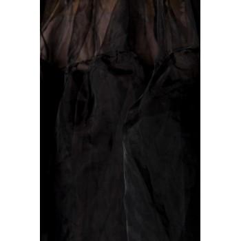 Oktoberfest Wiesn Dirndl Petticoat schwarz von Belsira - XS-L XL-3XL