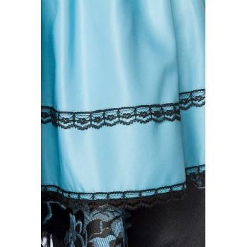 Premium Dirndl & Bluse braun schwarz von Dirndline - XS S M L XL 2XL 3XL